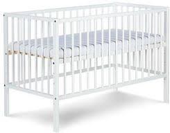 łóżeczko drewniane Klupś (Radek X biały)