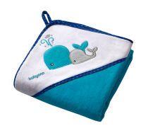okrycie kąpielowe 100/100cm welur Baby Ono
